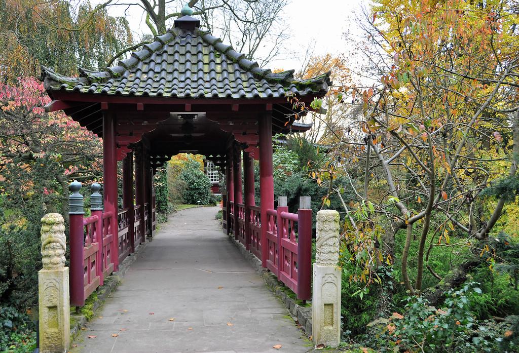 Japanischer Garten Und Carl Duisberg Park In Wiesdorf Objektansicht