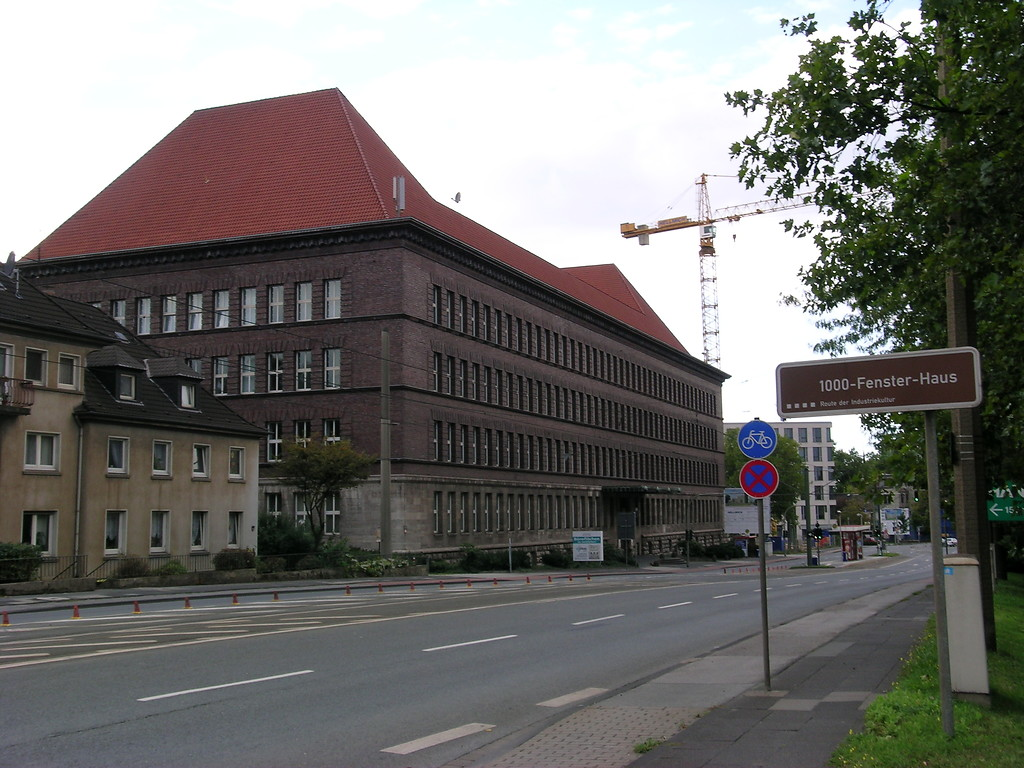 Tausendfensterhaus Ruhrort Objektansicht