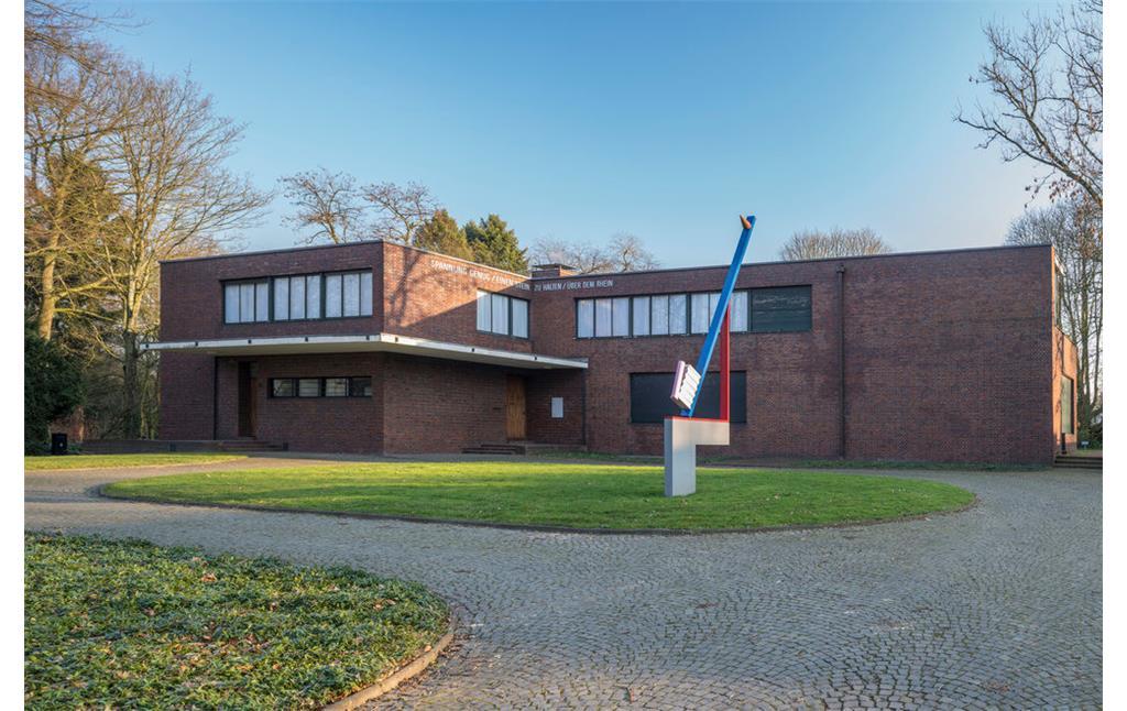 Villen Haus Esters Und Haus Lange In Bockum Objektansicht