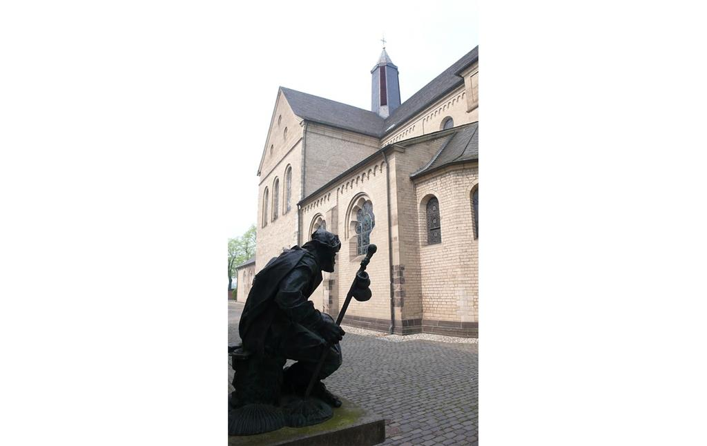 Pilgerstatue in Kaiserswerth (2009)