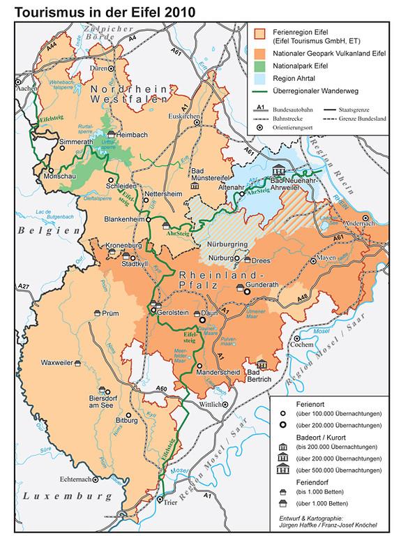 Karte Eifel.Bedeutsame Kulturlandschaftsbereiche In Der Kulturlandschaft Eifel