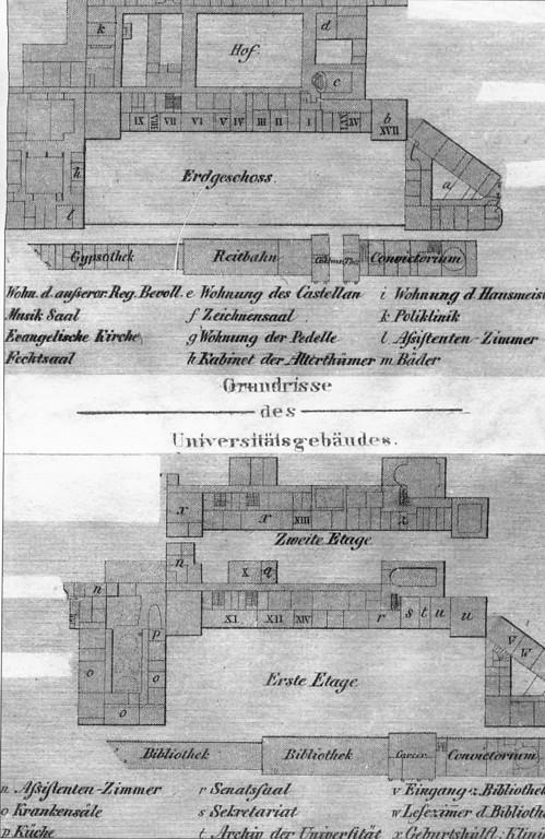 Hauptgebaude Der Rheinischen Friedrich Wilhelms Universitat Bonn