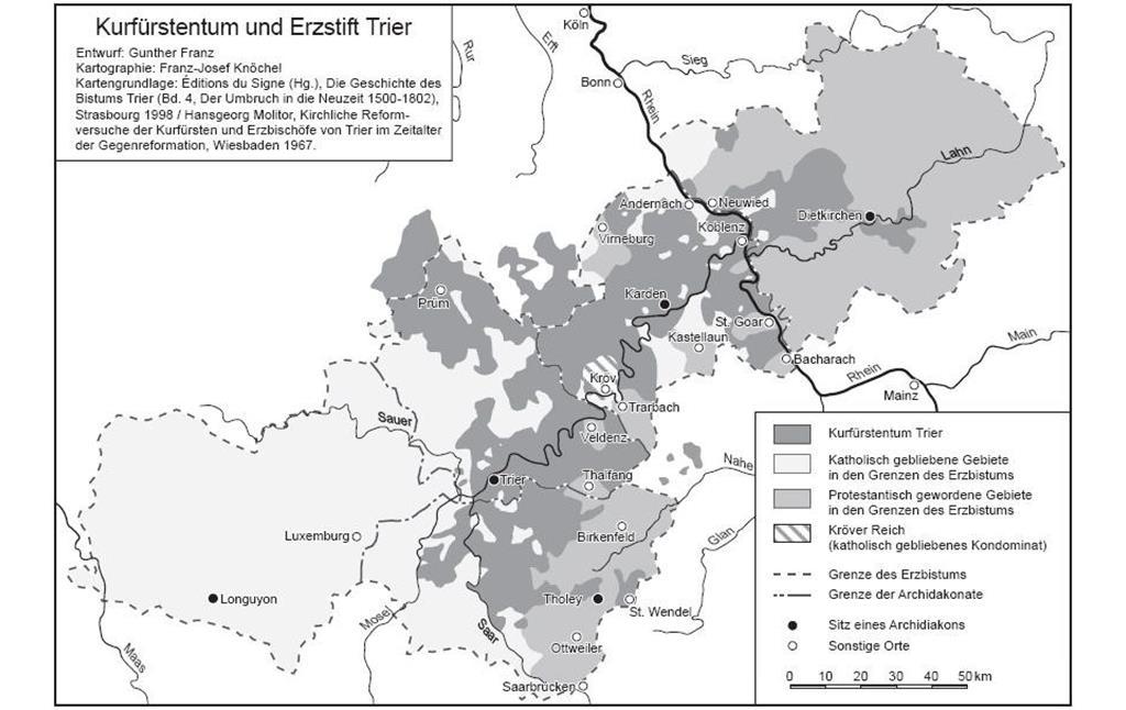 Bistum Trier Karte.Spuren Von Kurfürst Balduin Von Luxemburg Erzbischof Von Trier