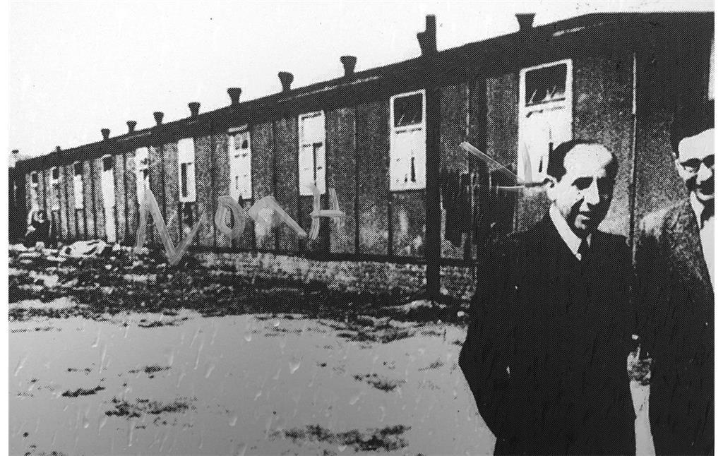 Ehemaliges Barackenlager Holbeckshof in Steele, zeitgenössisches Foto (2011)