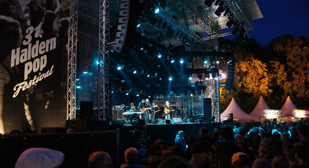 "Hauptbühne des 31. Open-Air-Festivals ""Haldern Pop"" in Rees-Haldern (2014)."