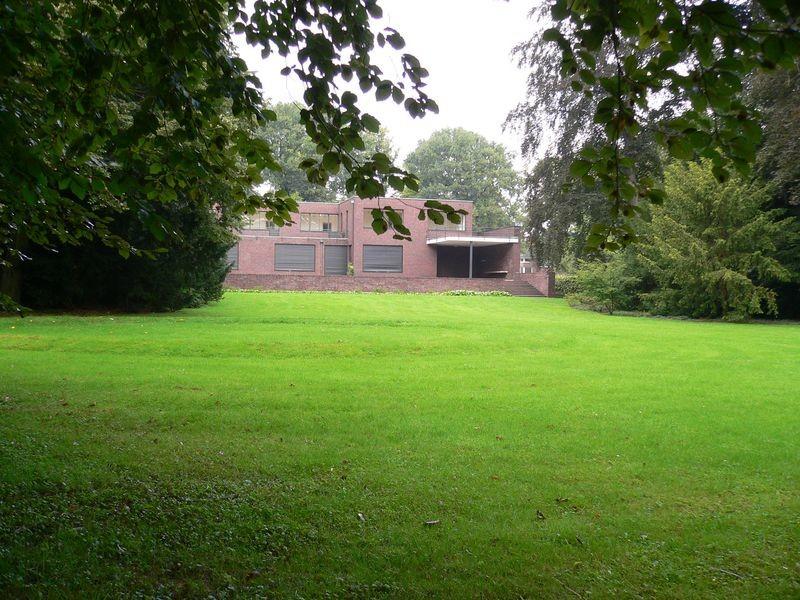 Villengärten Von Haus Esters Und Haus Lange In Krefeld Objektansicht