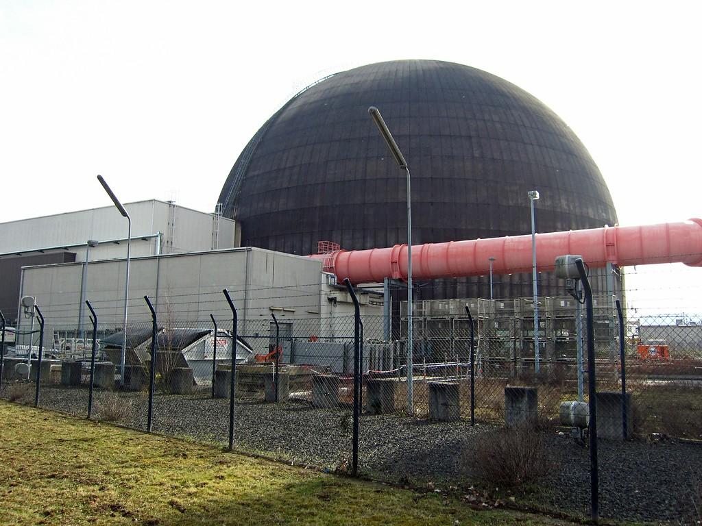 Kernkraftwerk Mulheim Karlich Objektansicht